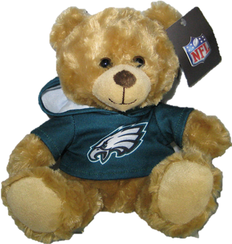 "Philadelphia Eagles 9"" Hoodie Rally Bear"