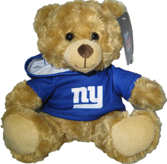 "New York Giants 9"" Rally Bear"