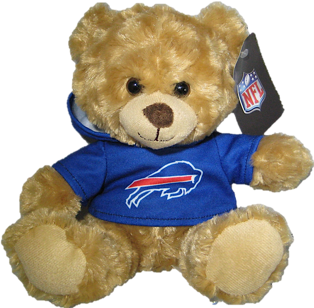 "Buffalo Bills 9"" Hoodie Rally Bear"