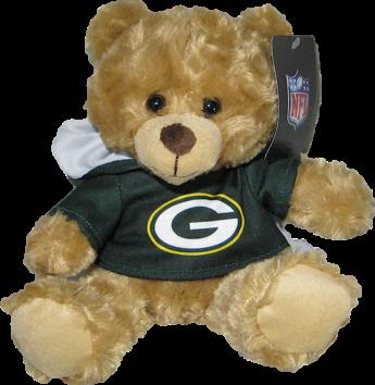 "Green Bay Packers 9"" Hoodie Rally Bear"