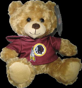 "Washington Redskins 9"" Hoodie Rally Bear"