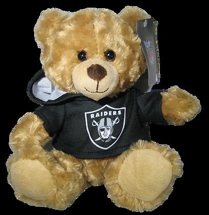 "Oakland Raiders 9"" Hoodie Rally Bear"