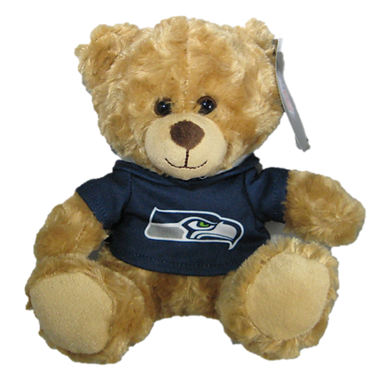 "Seattle Seahawks 9"" Hoodie Rally Bear"