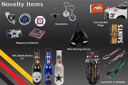 Page 8- Novelty Items