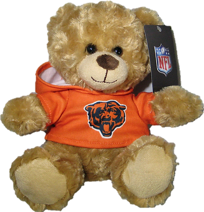 "Chicago Bears 9"" Hoodie Rally Bear"
