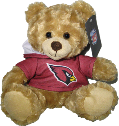 "Arizona Cardinals 9"" Hoodie Rally Bear"