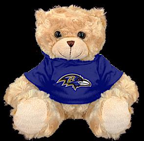 "Baltimore Ravens 9"" Hoodie Rally Bear"