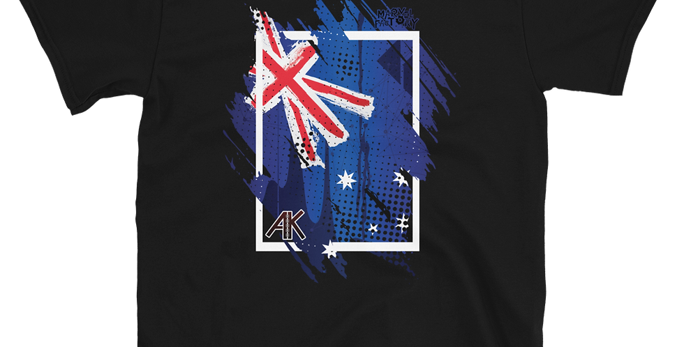 Azkadelya Australia Wildfire Relief Short-Sleeve Unisex T-Shirt