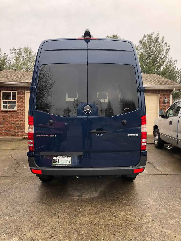 CR Laurence Rear Window Installation for Sprinter: Step By