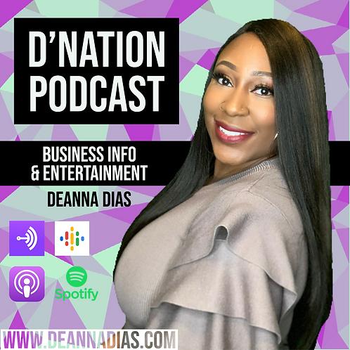3 Show Sponsorship- D Nation Podcast