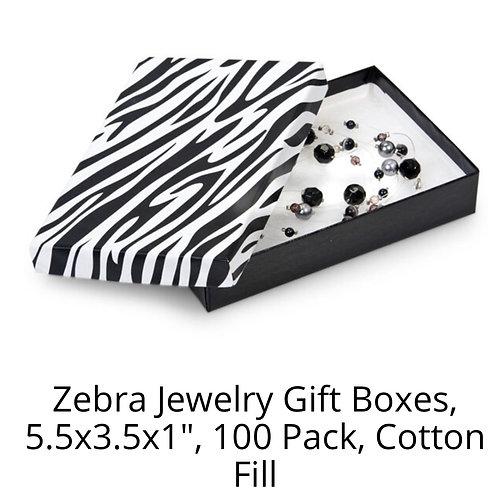 Animal Print Box Packaging