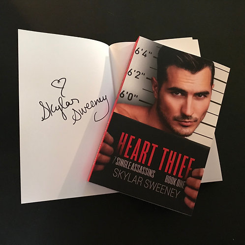 Signed Heart Thief Paperback