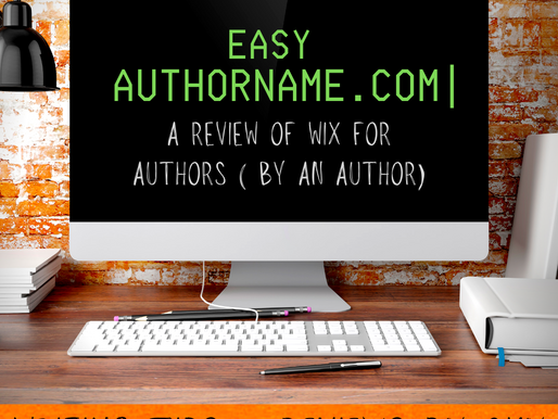 Easy AuthorName.com: A Review of Wix For Authors