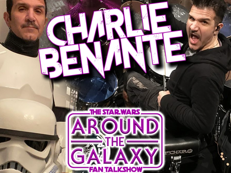 Anthrax drummer, Charlie Benante, talks Star Wars, Funko & Persistence of Time