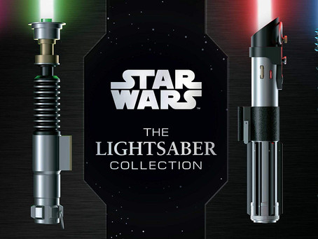 Star Wars: The Lightsaber Collection offers thrilling, insightful look at a more civilized weapon