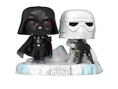 Vader and Snowtrooper Funko Pop! revealed, sixth and final in Battle at Echo Base Series