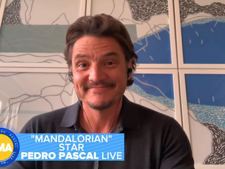 WATCH: Pedro Pascal Talks Mandalorian Season 2 on GMA