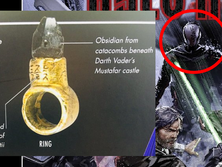 """Possible link to Snoke and Knights of Ren in new cover art for """"Kylo Ren"""" comic"""