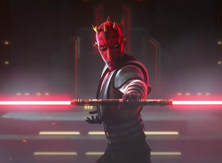 Clone Wars Season 7 sees Maul repair his lightsaber with another sith's hilt