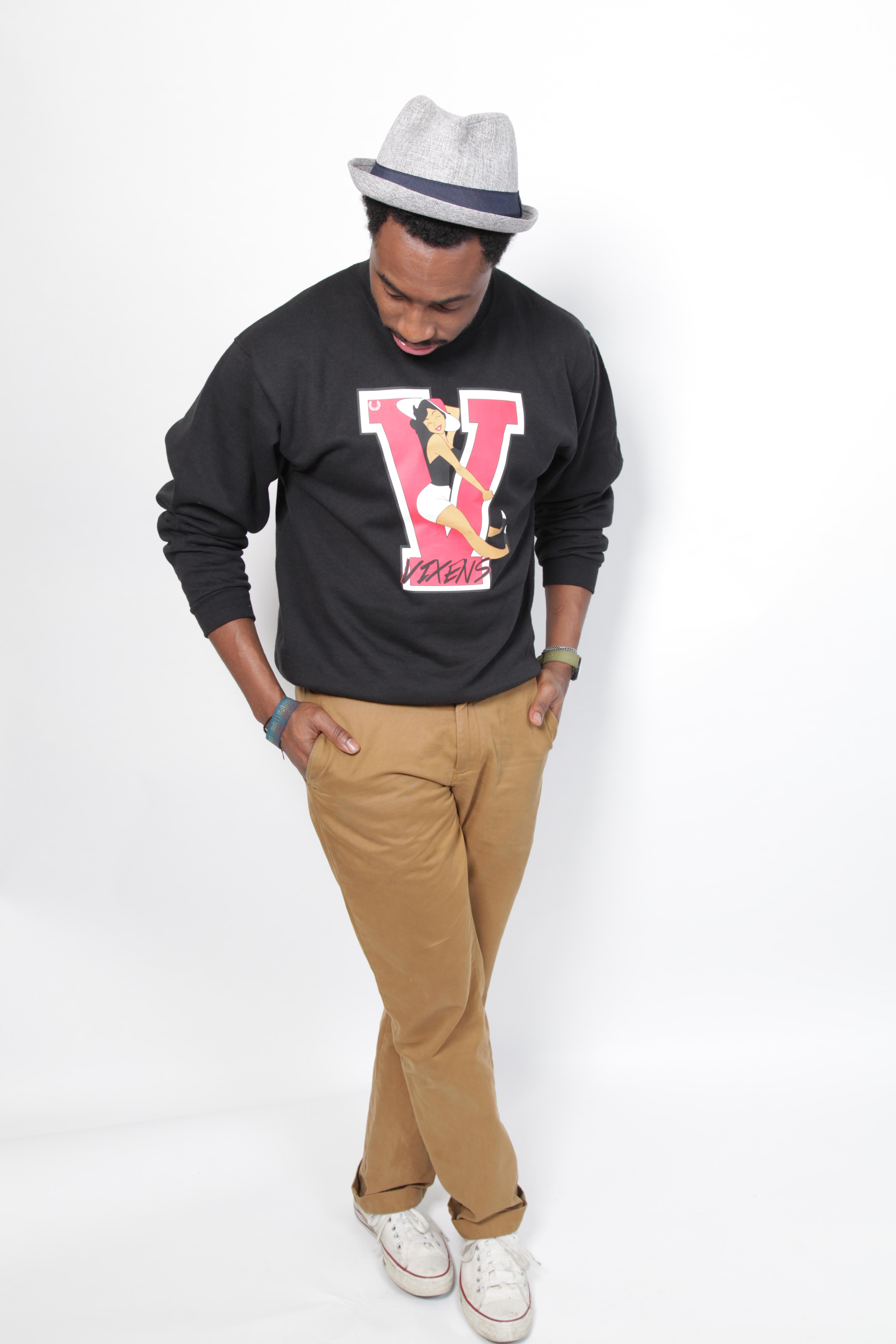 """Varsity Vixen"" Sweatshirt"