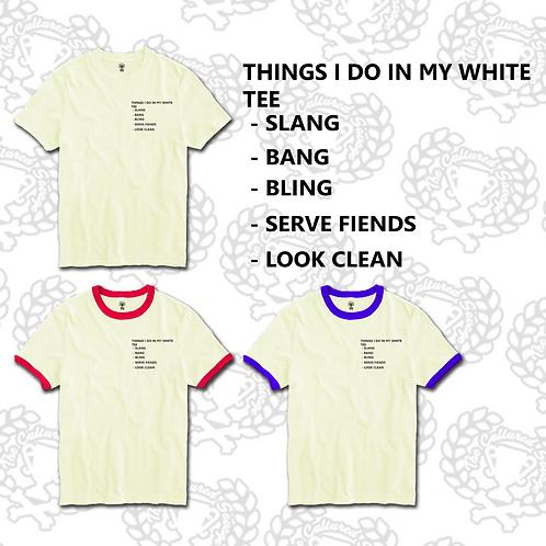 """White Tee"" T-Shirt"