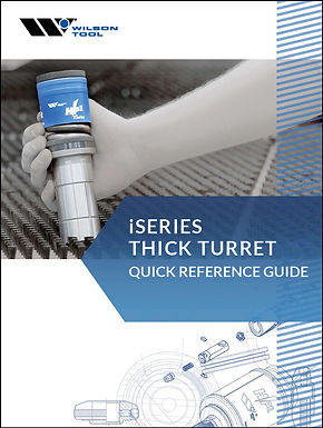catalogo thick turret wilson tool