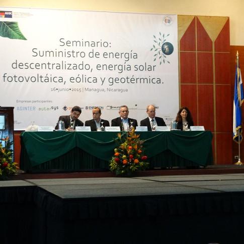 Seminario Energía Solar | Managua, Nicaragua