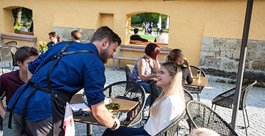 Cafe, Coffee, Hellbrunn, Salzburg, Park, Ice Cream, Eis, Kugeleis