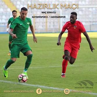 Kayserispor 0-1 Akhisarspor
