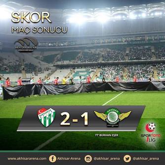 Bursaspor 2-1 Akhisarspor