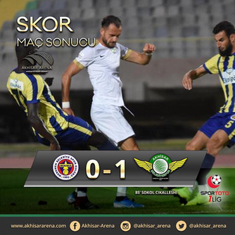 Ekol Göz Menemenspor 0-1 Akhisarspor