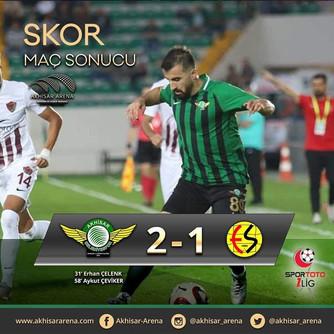 Akhisarspor 2-1 Eskişehirspor