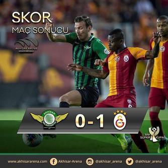 TFF Süper Kupa: Akhisarspor 0-1 Galatasaray