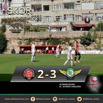 Fatih Karagümrük 2-3 Akhisarspor