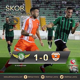 Akhisarspor 1-0 Adanaspor