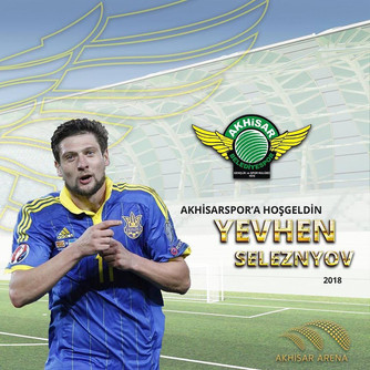 Yevhen Seleznov Akhisarspor'da