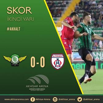Akhisarspor 0-0 Altınordu