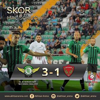 Akhisarspor 3-1 Hatayspor