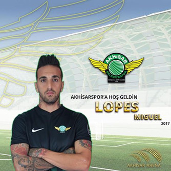 Miguel Lopes Akhisarspor'da