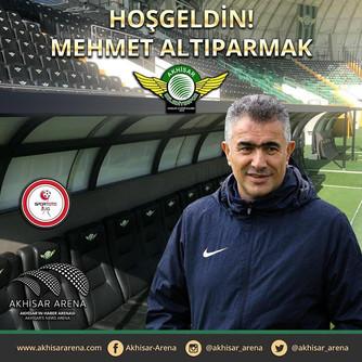 Yeni Teknik Direktörümüz Mehmet Altıparmak