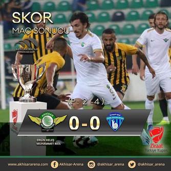 Akhisarspor 0-0 Bayburt Özel İdarespor
