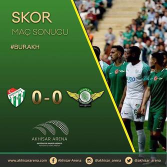 Bursaspor 0-0 Akhisarspor
