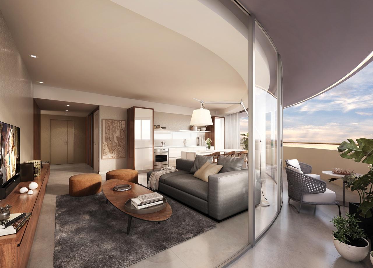 Decó Recoleta - Living Room