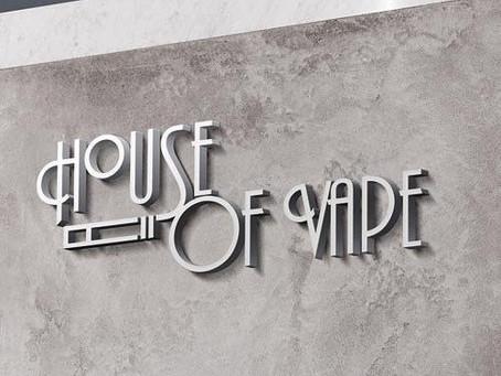 LOGO Design of House Of Vape