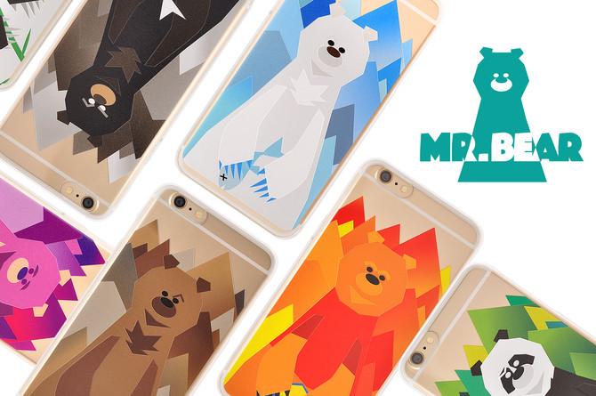 Mr. Bear Character Design