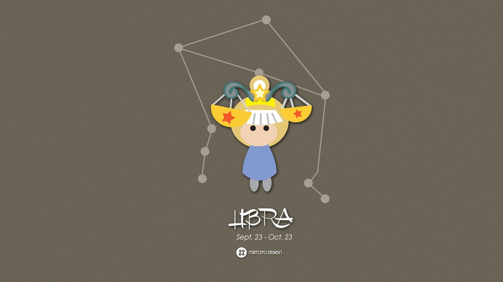 12 Constellations Character Design