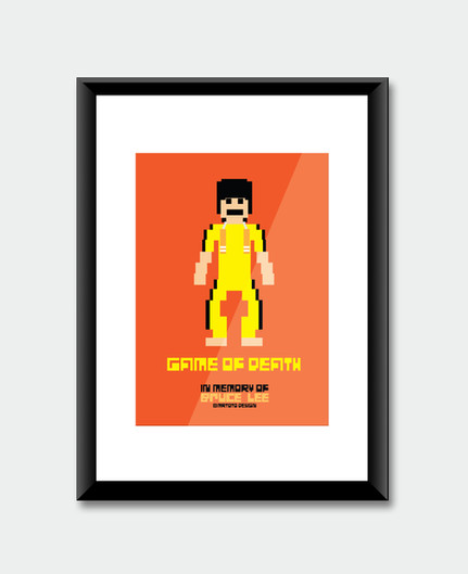 In Memory of Bruce Lee Pixel Project