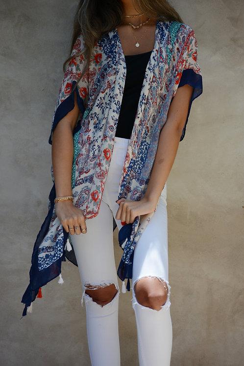 Trois K 100% Cotton Kimono