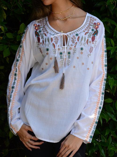 Trois K 100% Cotton Embroidered Tunic
