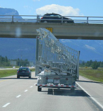 Highway-towable Mobile Units